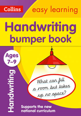 Collins Easy Learning KS2 Handwriting Bumper Book Ages 7-9 by Collins Easy Learning