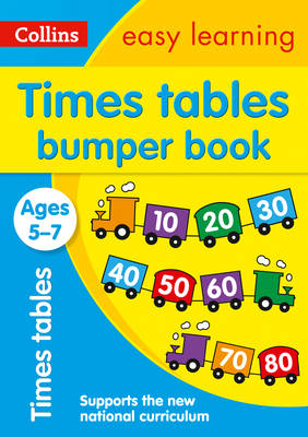Collins Easy Learning KS1 Times Tables Bumper Book Ages 5-7 by Collins Easy Learning
