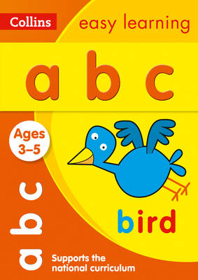 Collins Easy Learning Preschool: ABC Ages 3-5 by Collins Easy Learning