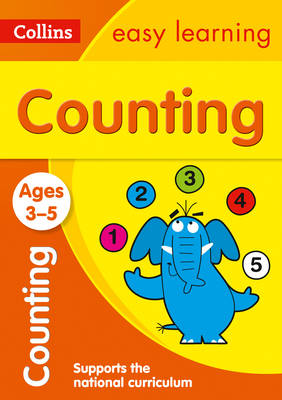Counting Ages 3-5 by Collins Easy Learning