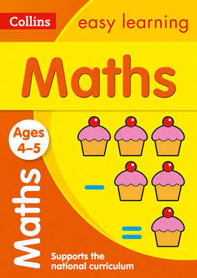 Collins Easy Learning Preschool Maths Ages 4-5 by Collins Easy Learning