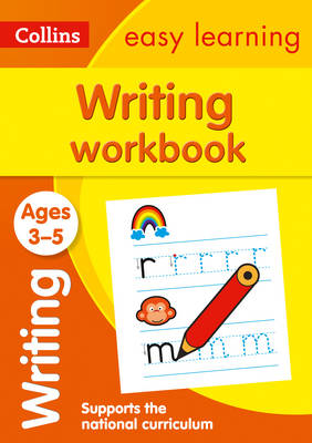 Writing Workbook Ages 3-5 by Collins Easy Learning