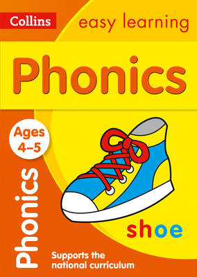 Collins Easy Learning Preschool: Phonics Ages 4-5 by Collins Easy Learning