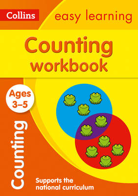 Collins Easy Learning Preschool Counting Workbook Ages 3-5 by Collins Easy Learning