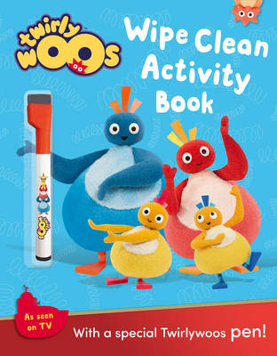 Twirlywoos Wipe Clean Activity Book by