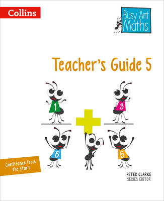 Busy Ant Maths Year 5 Teacher Guide Euro pack by Peter Clarke