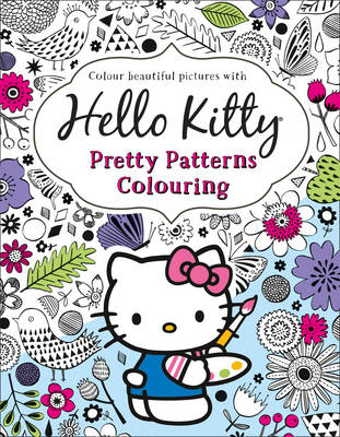 Hello Kitty Pretty Patterns Colouring Book by