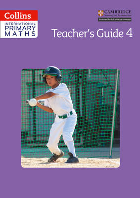 Collins International Primary Maths Teacher's Guide 4 by Paul Wrangle, Caroline Clissold