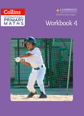Collins International Primary Maths Workbook 4 by Paul Wrangles, Caroline Clissold