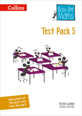 Busy Ant Maths - Test Pack 5 by Caroline Fawcus, Peter Clarke