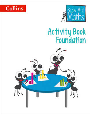 Busy Ant European Edition - Activity Book Foundation by Peter Clarke