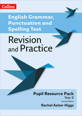 Key Stage 2: Pupil Resource by Rachel Axten-Higgs