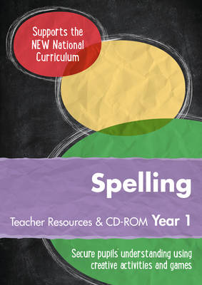 Year 1 Spelling Teacher Resources with CD-ROM English KS1 by