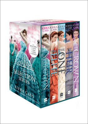 The Selection Series 1-5 (The Selection, the Elite, the One, the Heir and the Crown) by Kiera Cass