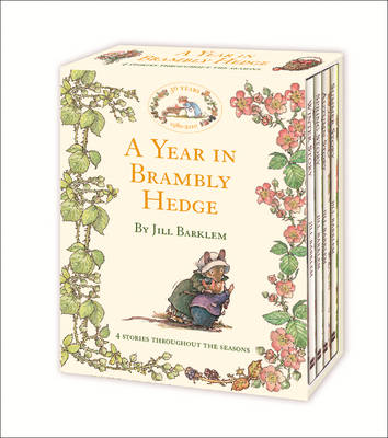 A Year in Brambly Hedge by Jill Barklem