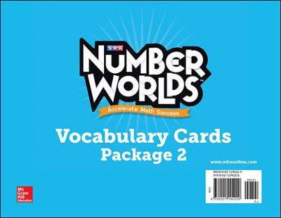 Number Worlds Vocabulary Cards by McGraw-Hill Education, Sharon Griffin