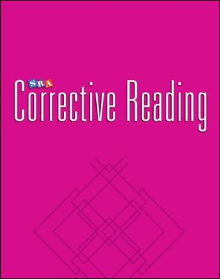Corrective Reading Decoding Level B2, Blackline Masters by McGraw-Hill Education, Siegfried Englemann