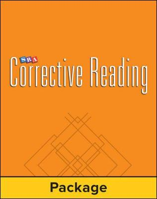 Corrective Reading Decoding Level A, Student Workbook by Siegfried Engelmann, McGraw-Hill Education