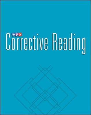 Corrective Reading Decoding Level B1, Teacher Materials by McGraw-Hill Education, Siegfried Engelmann