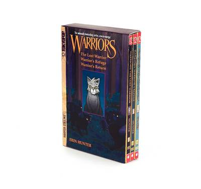 Warriors Manga Box Set: Graystripe's Adventure The Lost Warrior / Warrior's Refuge / Warrior's Return by Erin Hunter