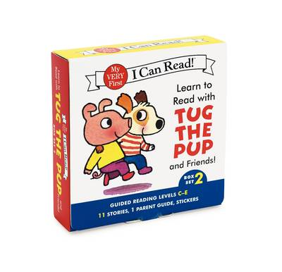 Learn to Read with Tug the Pup and Friends! Box Set 2 Levels Included: C-E by Julie M. Wood