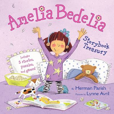 Amelia Bedelia Storybook Treasury Amelia Bedelia's First Day of School; Amelia Bedelia's First Field Trip; Amelia Bedelia Makes a Friend; Amelia Bedelia Sleeps Over; Amelia Bedelia Hits the Trail by Herman Parish