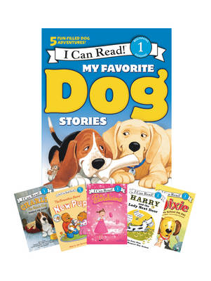 My Favorite Dog Stories: Learning to Read Box Set by Jan Berenstain, Ree Drummond, Grace Gilman, Victoria Kann