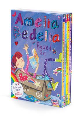 Amelia Bedelia Chapter Book Box Set Books 1-4 by Herman Parish
