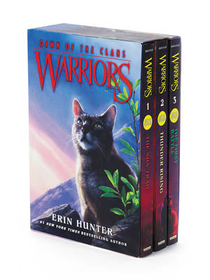 Warriors: Dawn of the Clans Box Set: Volumes 1 to 3 by Erin Hunter