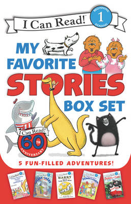 I Can Read My Favorite Stories Box Set Happy Birthday, Danny and the Dinosaur!; Clark the Shark: Tooth Trouble; Harry and the Lady Next Door; the Berenstain Bears: Down on the Farm; Splat the Cat Make by Stan Berenstain, Ree Drummond, Bruce Hale, Syd Hoff
