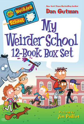 My Weirder School 12-Book Box Set Books 1-12 by Dan Gutman