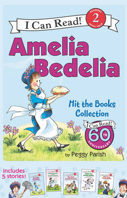 Amelia Bedelia I Can Read Box Set #1: Amelia Bedelia Hit the Books Collection by Peggy Parish