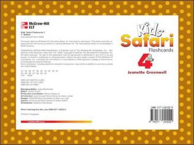Kids' Safari Flashcards 4 by