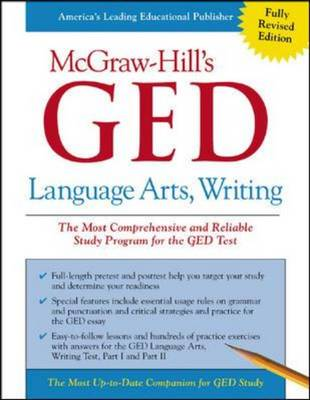 McGraw-Hill's GED Language, Arts, Writing by Ellen C. Frechette, Tim Collins