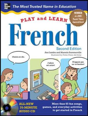 Play And Learn French 2/E (Set 2) by Ana Lomba, Marcela Summerville