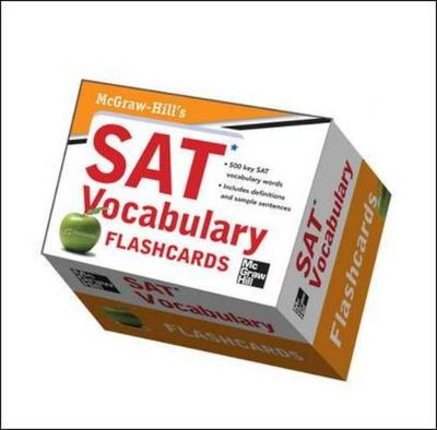 McGraw-Hill's SAT Vocabulary Flashcards by Mark Anestis, Christopher Black