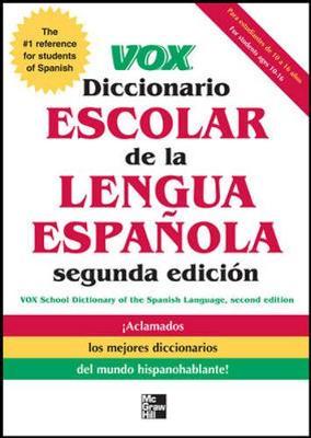 VOX Diccionario Escolar by Vox