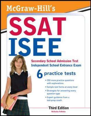 McGraw-Hill's SSAT/ISEE by Nicholas Falletta