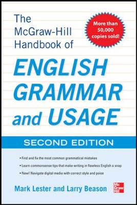 McGraw-Hill Handbook of English Grammar and Usage With 160 Exercises by Mark Lester, Larry Beason