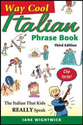 Way-cool Italian Phrase Book by Jane Wightwick