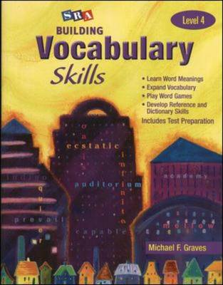 Building Vocabulary Skills A - Student Edition - Level 4 by Michael F. Graves