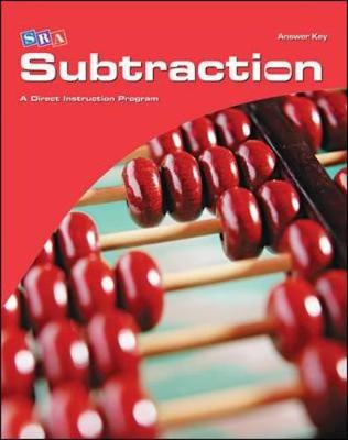 Corrective Mathematics Subtraction, Additional Answer Key by McGraw-Hill Education