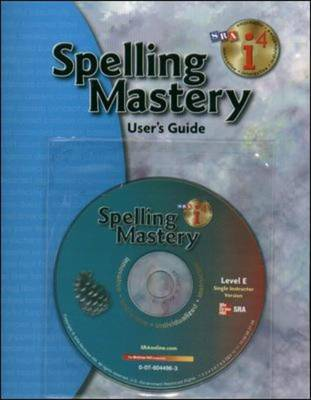 Spelling Mastery - Additional I4 Software Single Instructor Version - Level E by