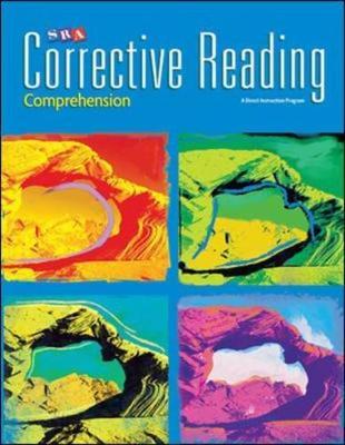 Corrective Reading Comprehension Level B1, Enrichment Blackline Master by McGraw-Hill Education