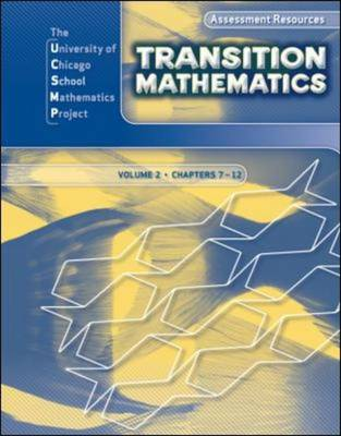 Transition Mathematics: Assessment Resources by UCSMP, Zalman Usiskin