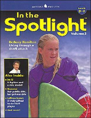 In the Spotlight: Levels D-F by McGraw-Hill Education