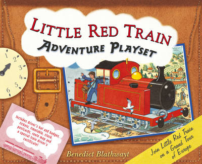 Little Red Train Adventure Playset by Benedict Blathwayt