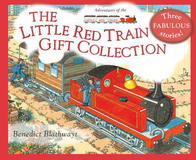 The Little Red Train Gift Collection by Benedict Blathwayt