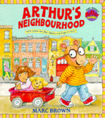 Arthur's Neighbourhood (Giant ) Giant Board Book by Marc Brown