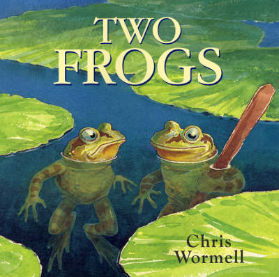Two Frogs by Christopher Wormell